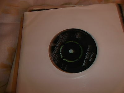 The Who Daddy Rolling Stone Vinyl Single