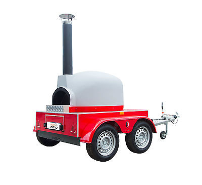 Mobile Gas / Wood Fired Pizza Oven * Pizza Trailer Catering  Forno Lpg *+Vat *