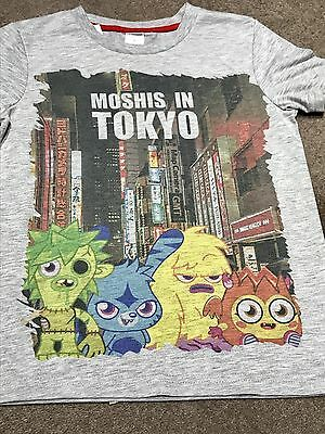 New 'Moshis In Tokyo' T-shirt Moshi Monsters Age 9-10