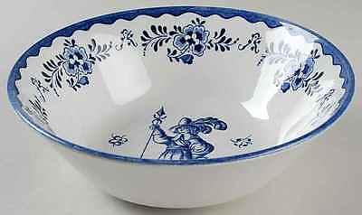 Johnson Brothers HOLLAND BLUE SCENES Round Vegetable Bowl 278483