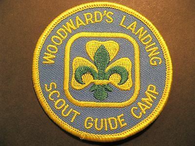 Girl Guides Boy Scouts Canada Woodward's Landing Camp  British Columbia Patch