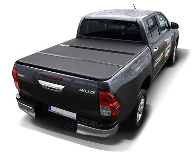 Toyota Hilux Revo 2015- Bedcover Hard Tonneau Cover Klappbare Abdeckung
