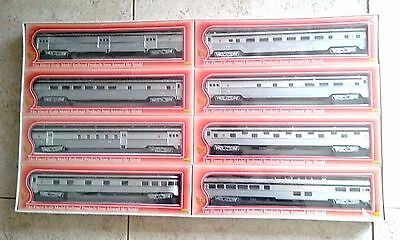 IHC NEW Canadian Pacific Fluted Side Streamlined 8 Car Passenger Train Set -NICE