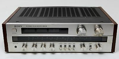 Vintage 1979 Sony STR-V4 Stereo Receiver AM/FM Tuner, 170W, Cleaned and Works