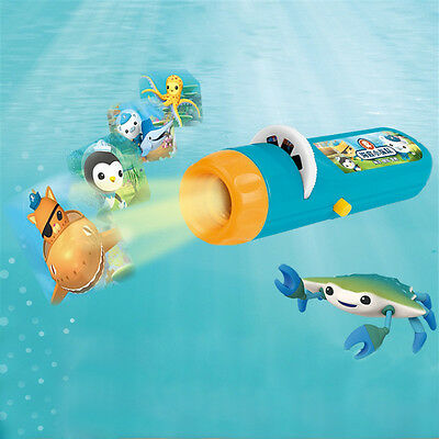 Children Kids Projector Undersea Column Torch Finding Flashlight Kids Game Toys