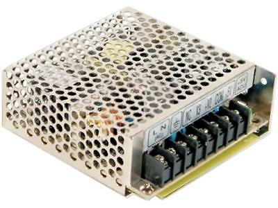 RT-50B Pwr sup.unit pulse 50W 5VDC 12VDC -12VDC 4A 2A 0.5A 410g MEANWELL