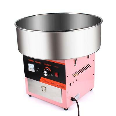 DIY Cotton Candy Machine Commercial Sugar Candy Floss Maker for Party Carnival