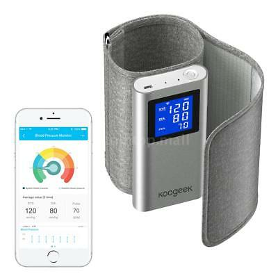 Koogeek Blood Pressure Monitor Upper Arm Wireless WiFi or Bluetooth FDA Y5Q8