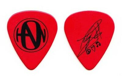 Hanson Taylor Hanson Signature Red Guitar Pick