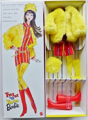 Barbie Twist n Turn Collectors Request Reproduction Outfit Only In Box MOD 18941