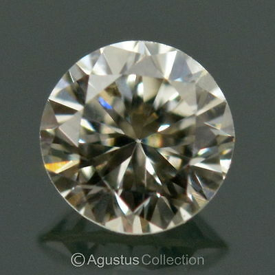 0.05 cts Round Natural loose White Diamond 2.42 mm VS2 Clarity Brilliant Cut