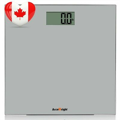Accuweight Digital Bathroom Weight Scale with Smart Step on Technology,...