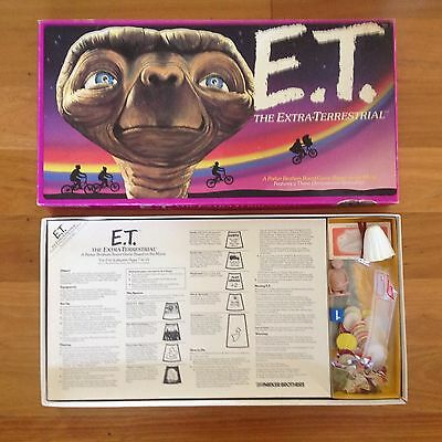 E.T. The Extraterrestrial Parker Bros Retro Board Game BONUS Movie Storybook