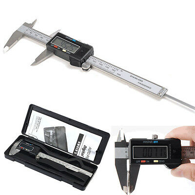 Stainless Steel Digital Electronic Gauge Vernier Caliper 6inch 150mm Micrometer