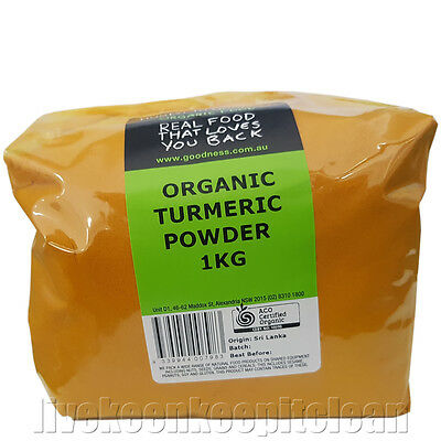 Honest To Goodness - Certified Organic Turmeric Powder - 1KG