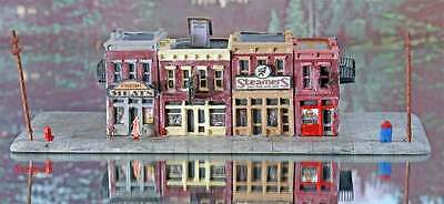 Z Scale American Storefronts Diorama