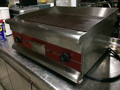 Hot plate grill, electric benchtop