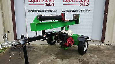 26 Ton Iron and Oak Log Splitter Other Forestry & Logging Equipment