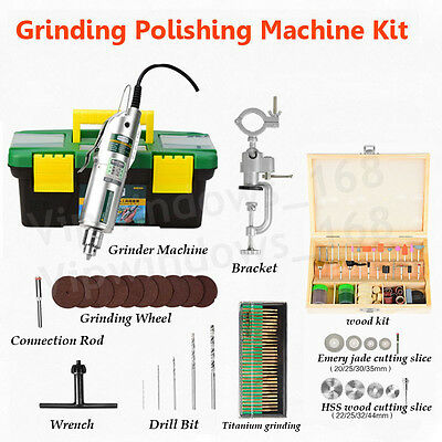 Electric Grinder Machine Variable Speed Jade Wood Grinding Polishing & Accessory
