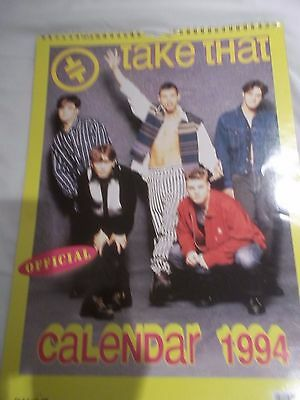 Retro 90s Take That 1994 Official Calendar