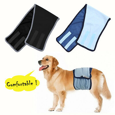 Male Dog Wrap Pooch Belly Diaper Nappy for Band Dogs Pants Belt Underwear UK