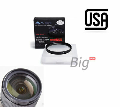 52mm UV Ultra-Violet Filter Lens Cap Protector for Nikon Canon Sony Pentax Local