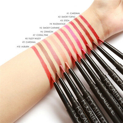 1Pc Waterproof Lip Liner Pen Nude Pink long Lasting Lip Liner Pencil For Makeup