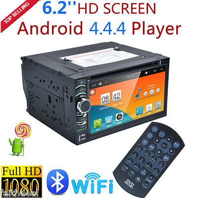 """6.2"""" 2 DIN Autoradio Android Car Stereo GPS Touch Navigazione DVD Player MP3 WIF"""