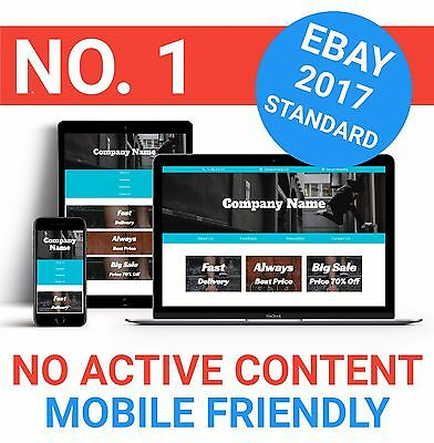 eBay Listing Template HTML Professional Mobile Responsive Design 2017 Sport GAL