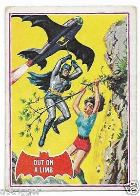 1966 Batman Red Bat (13A) Out On A Limb