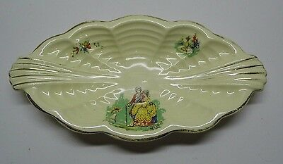 AJ Wilkinson Staffordshire Pottery Honeyglaze Rectangular Dish