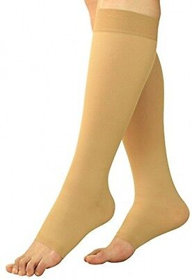 Maternity Compression Stockings - Pregnancy Tights and Leggings - Knee High Toe