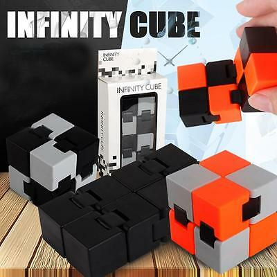 Infinity Cube For Stress Relief Fidget Anti Anxiety Stress Funny EDC Toy Gift