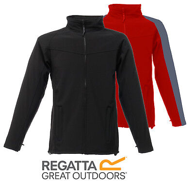 Regatta Uproar Mens Warm Backed Water-Repellent Wind Res Softshell Jacket