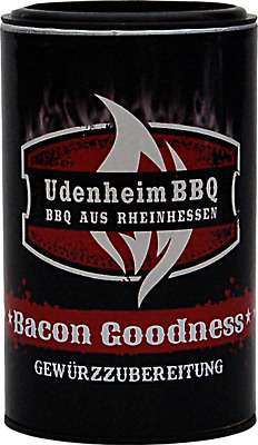 (100gr € 4,58) Bacon Goodness Udenheim BBQ 120gr