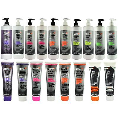 Fudge Clean Blonde Violet Toning Silver Shampoo & Conditioner 300/1000ml