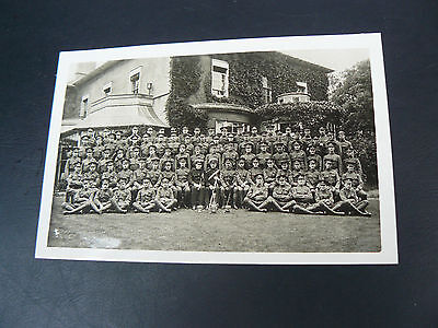 Reading Officer Training Corps 1913 Real Photo RP Postcard - Berkshire
