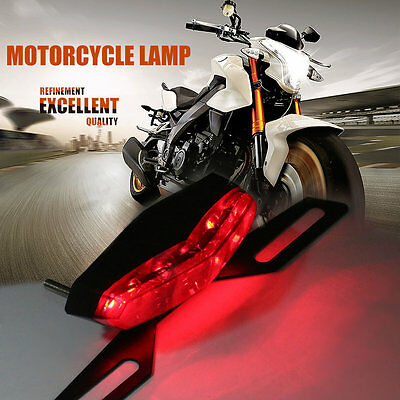 Professional LED Motorcycle Rear Tail Light Good Quality Brake Stop Light RM