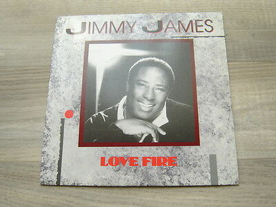 modern7soul45r&b *EX* JIMMY JAMES Love Fire 1980s ska and the vagabonds northern