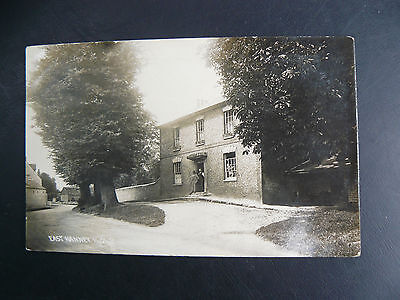 East Hanney Real Photo RP Postcard - Berkshire & Oxfordshire