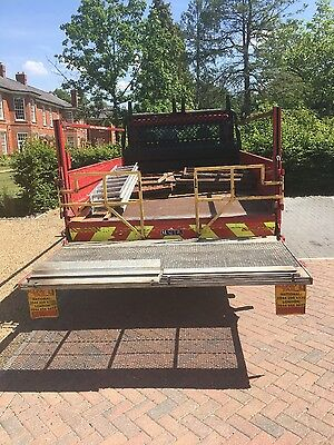 tail lift body only for ford transit truck/lorry
