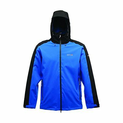 Regatta Topout Mens Waterproof Breathable Stretch Hard Shell Jacket Blue XXL
