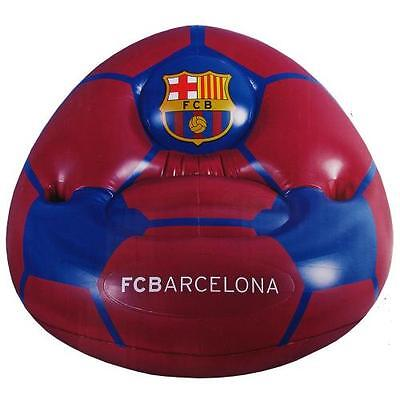 Official Licensed Football Product FC Barcelona Inflatable Chair Purple Gift New
