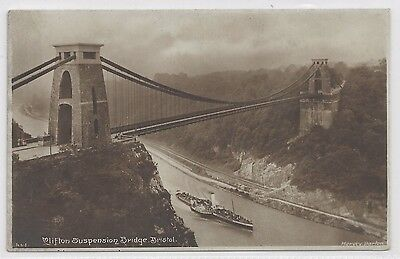 Harvey Barton Postcard – Clifton Suspension Bridge, Bristol