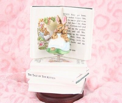 Vintage Beatrix Potter Music Box - Brahms' Lullaby from Schmid