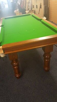 6' Snooker Table, slate bed, new