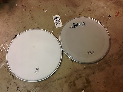 "Vintage Style Ludwig 20"" Weather Master Bass Drum Heads"