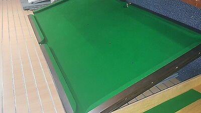 8' Snooker Table, wooden base, new