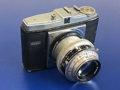 Dacora 6x6 Medium Format Camera With Enna Werk Fast 8cm f2.9 Lens - (#1)