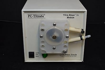 Mantech Pc-Titrate Titra-Rinse / A Module Titration Rise Pump